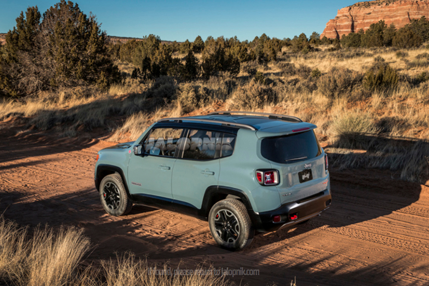 acrt actualit jeep renegade 2015 premi re mondiale gen ve actualit s automobile site. Black Bedroom Furniture Sets. Home Design Ideas