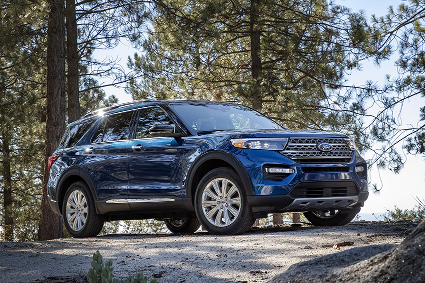 Ford Explorer XLT Limited 2020