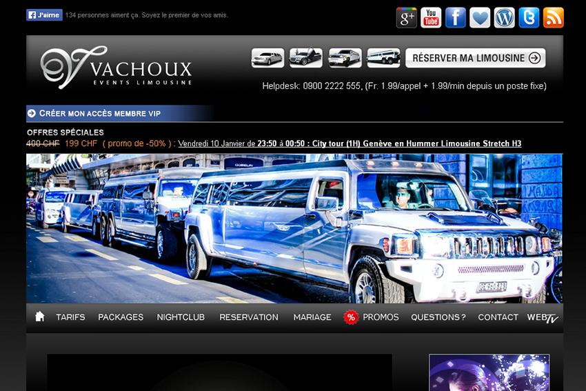 vachoux limousine service dans la rubrique location
