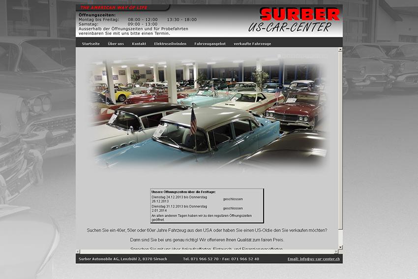 surber us car center dans la rubrique importateurs voitures annuaire lectronique acrt. Black Bedroom Furniture Sets. Home Design Ideas