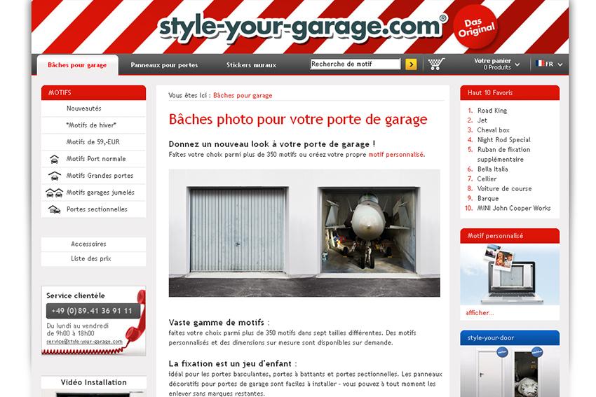 Des portes de garage en trompe l 39 oeil dans la rubrique for Garage auto electronique