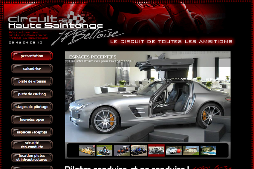 circuit de haute saintonge dans la rubrique circuits annuaire lectronique acrt site. Black Bedroom Furniture Sets. Home Design Ideas