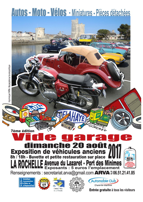 Acrt agenda vide garage la rochelle 2017 site for Garage du port la rochelle