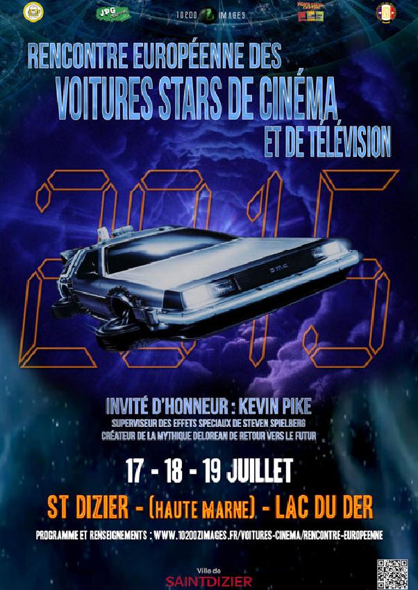 Rencontre europeenne des voitures stars de cinema 2017