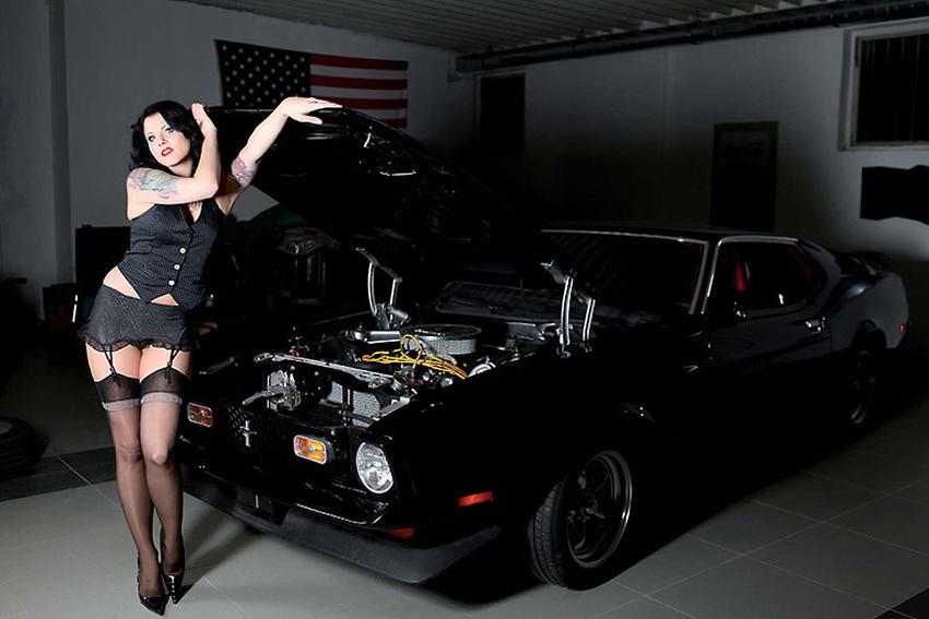 Calendrier Girls Legendary Us Cars